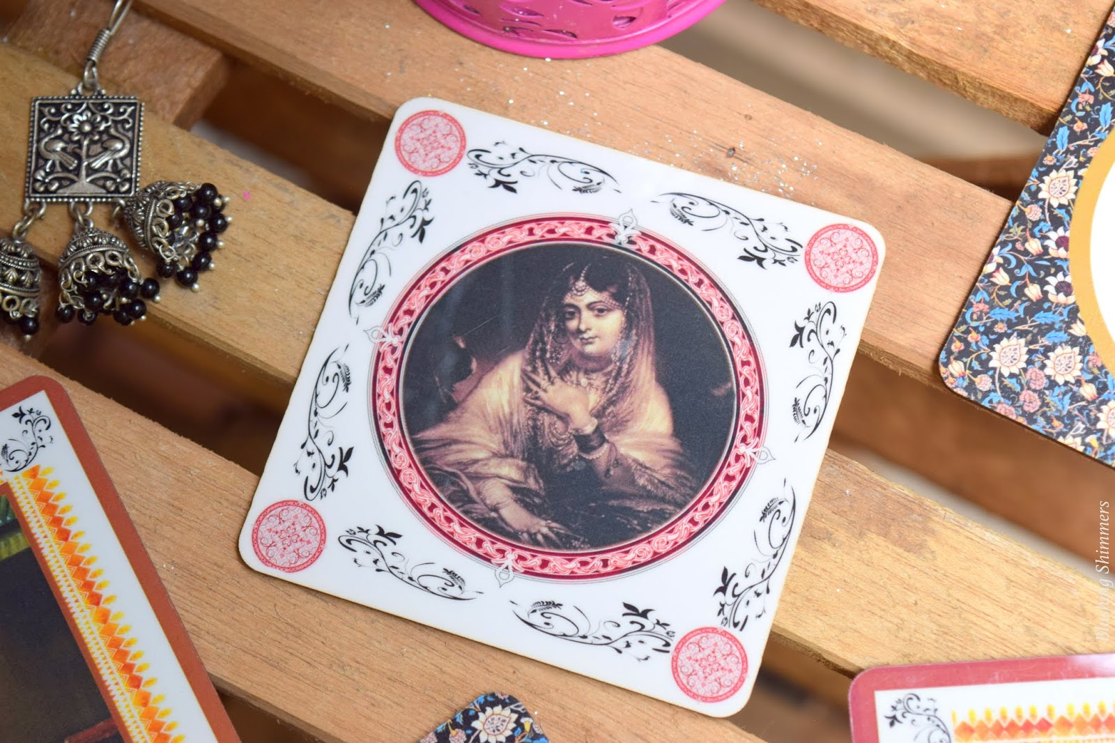 Kala Drishti 6 piece Coaster online buy