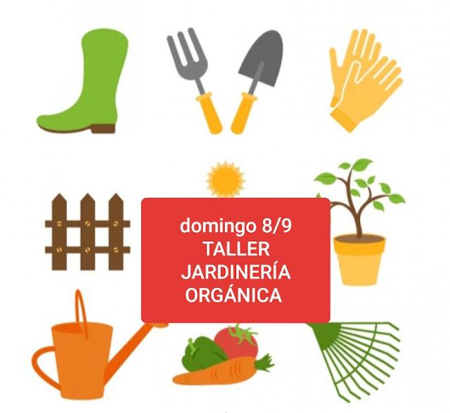 Taller jardinería orgánica