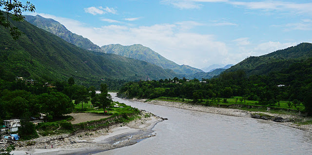 Satluj River in Himachal Pradesh