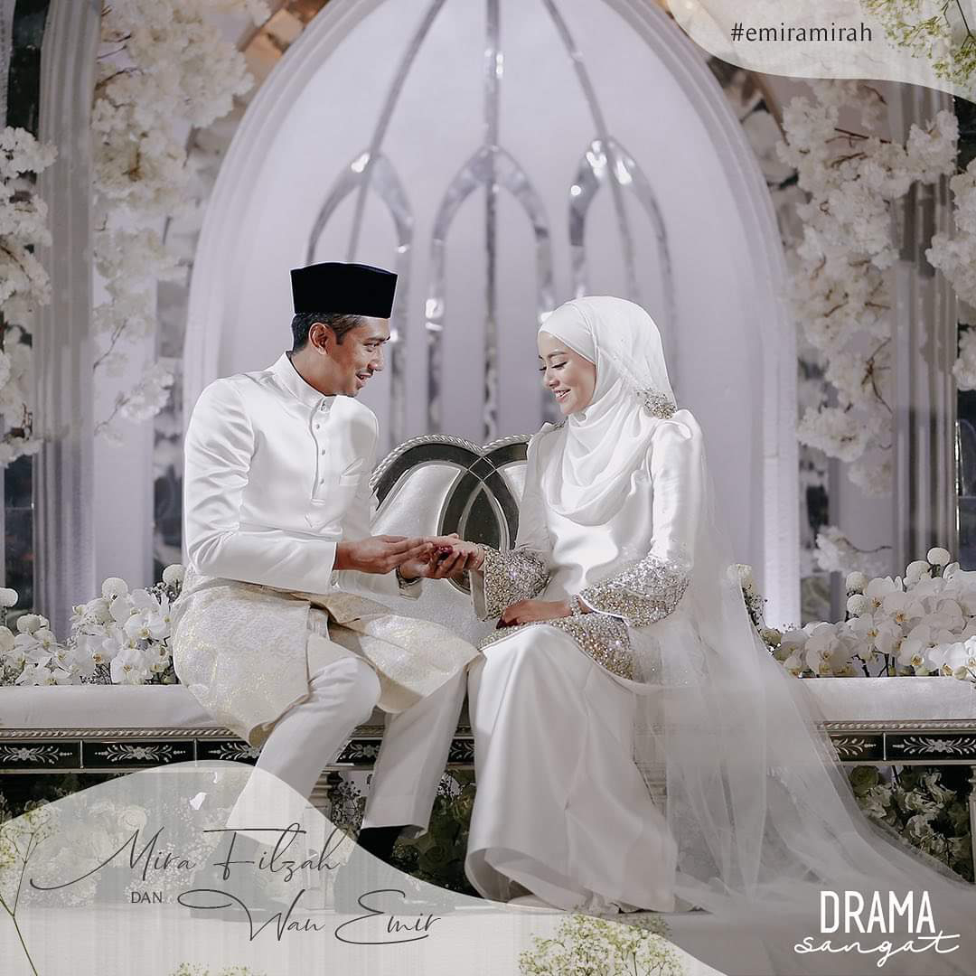 Pernikahan Mira Filzah dan Wan Emir Secara LIVE