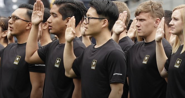 Military eyes 16-year-olds as ranks and candidates dwindle