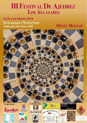 III Festival de Ajedrez Los Alcazares Sub 2200 y Sub 1700 (22, 23, 24 Febrero 2019)
