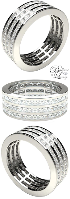 Brilliant Luxury ♦ Diamondsfactory Wedding Rings