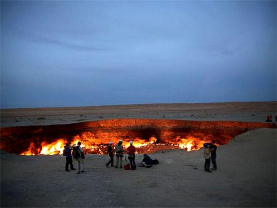 Darvaza Crater 1