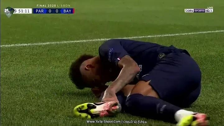 الشوط الثاني لمباراة باريس سان جيرمان وبايرن ميونخ بتاريخ 2020-08-23 نهائي دوري أبطال أوروبا