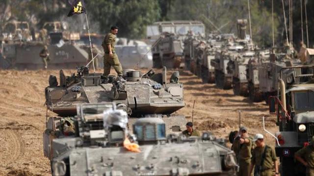 Israel realiza su mayor despliegue militar en la frontera libanesa