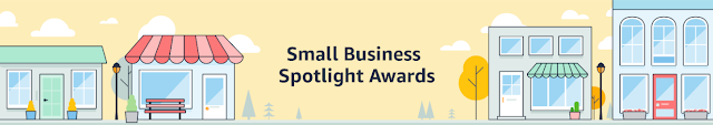 Small business spotlight award by Amazon