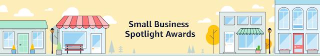Small business spotlight award by Amazon