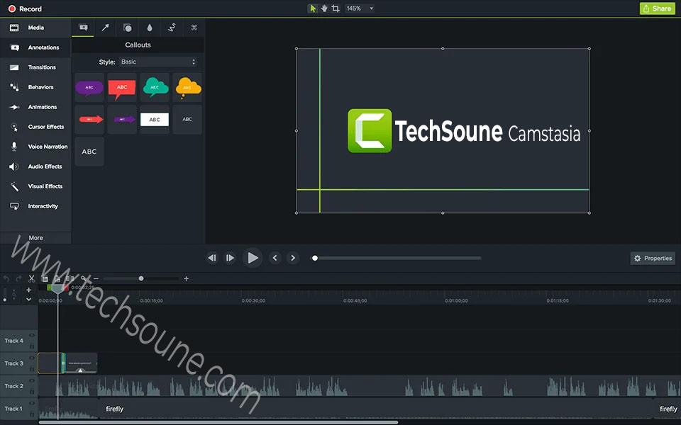 تحميل برنامج Camtasia Studio آخر إصدار مفعل