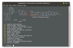 Install Th3Inspector - Best Tools for Information Gathering