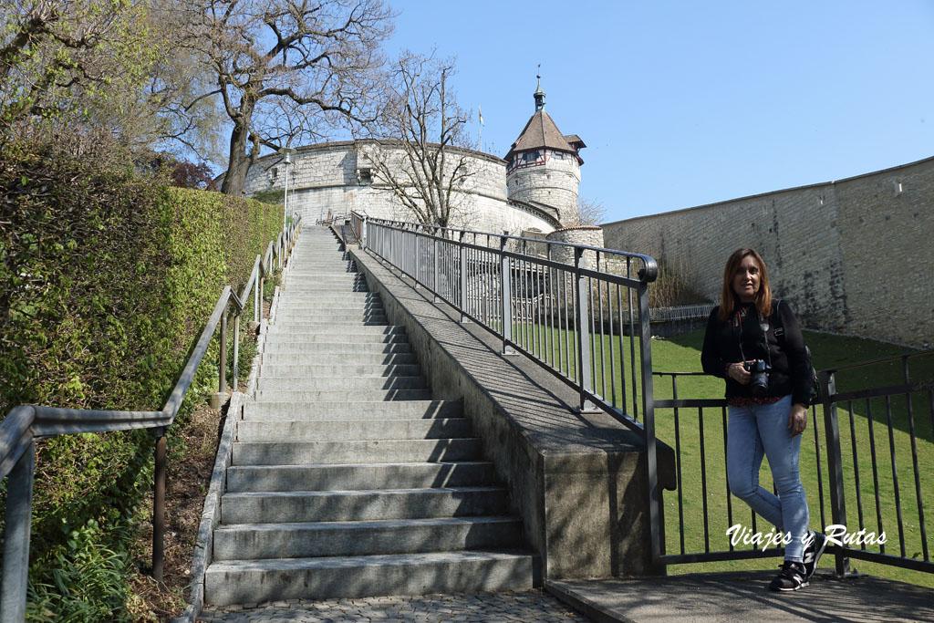 Fortaleza Munot de Schaffhausen