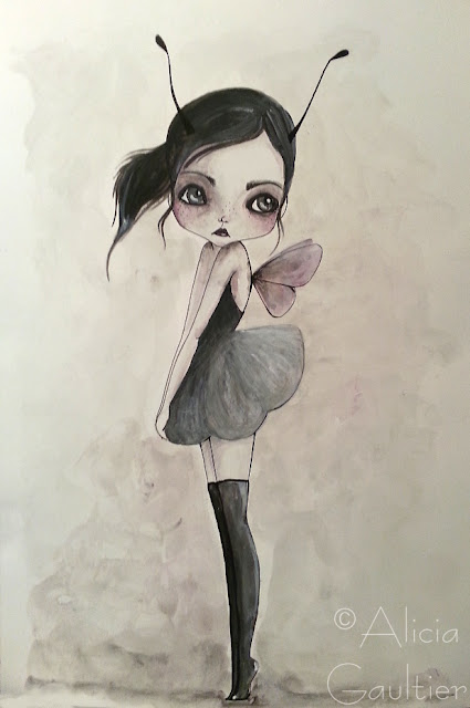 Alicia G illustration - dessin crayon graphique encre & pigments - Atelier Arts LT37  Tours la riche st avertin st martin le beau veigné montbazon