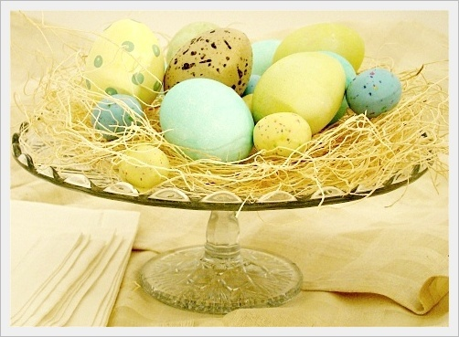 ... idee per centrotavola di Pasqua fai da te originali ed economici