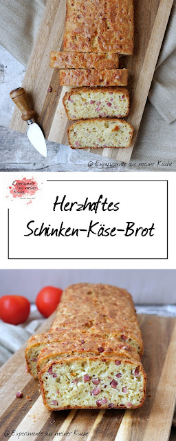 Herzhaftes Schinken-Käse-Brot | Rezept | Backen | Essen | Brunch | Fingerfood