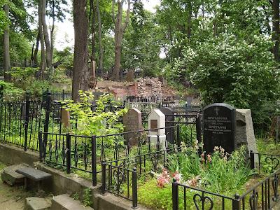 Vvedenskoe cemetery in Moscow