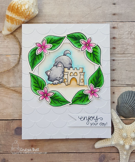 Enjoy your day by Andrea features Newton's Summer Vacation, Love Grows by Newton's Nook Design, #newtonsnook