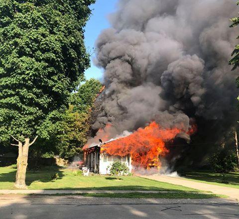Prime Wellsville Regional News Dot Com Fire Destroys Bath Home Home Interior And Landscaping Ologienasavecom