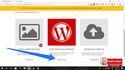 Free Web Hosting (000WebHost) पर WordPress Blog कैसे बनायें (7)