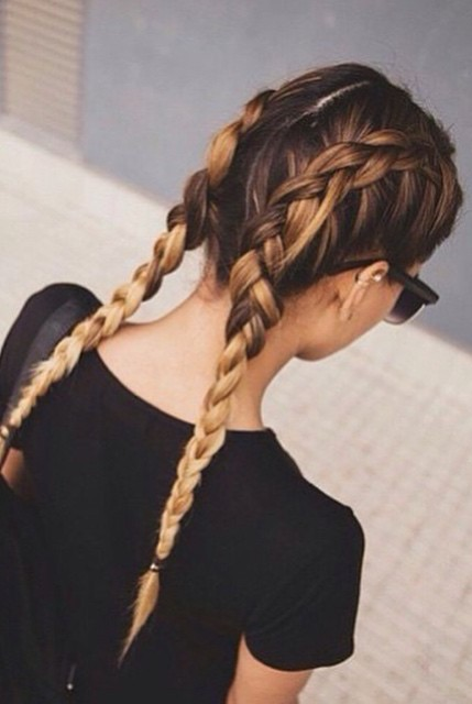 workout hairstyle idea