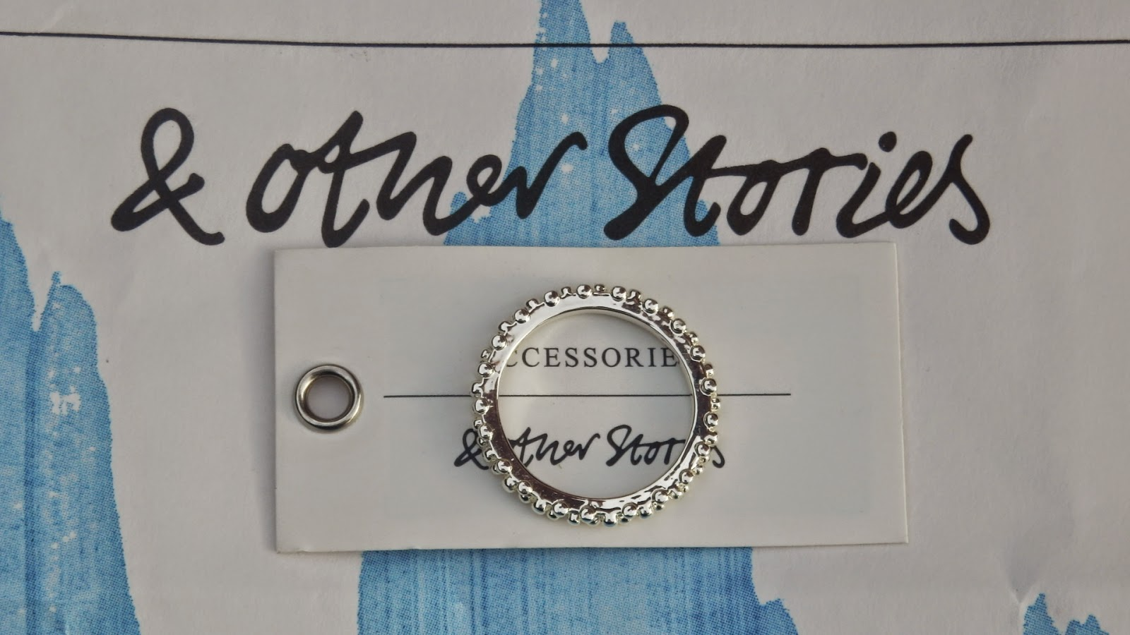 & Other Stories silver coloured ring
