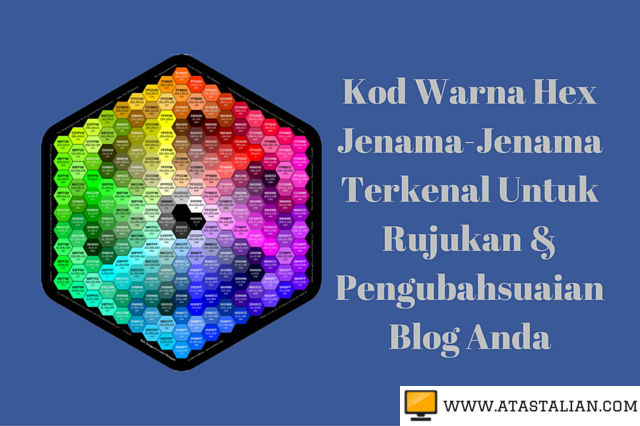 Kod warna HEX
