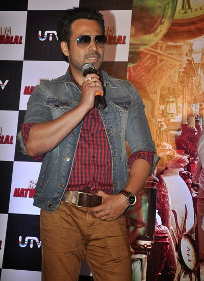 Emraan Hashmi attend the Raja Natwarlal trailor launch event