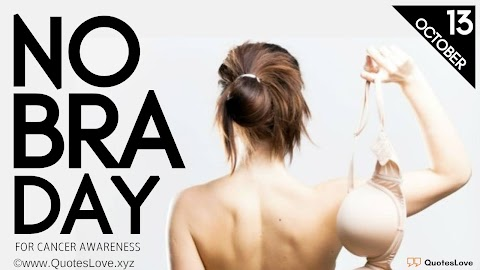 19 [Best] No Bra Day 2020: Quotes, Sayings, Instagram Captions, Wishes, Greetings, Images, Pictures, Poster