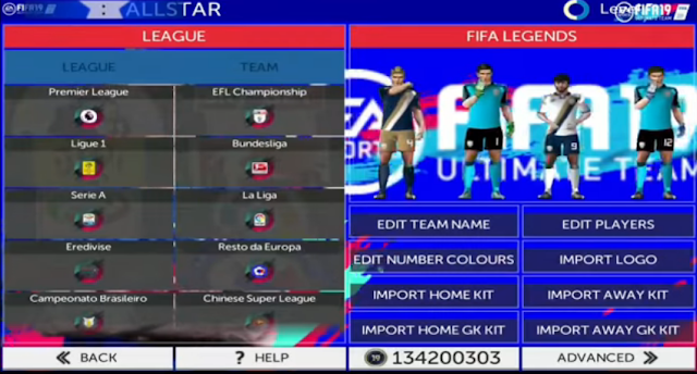 Download Game Android FTS 19 Mod FIFA 2019 Edition