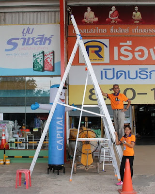 Thailand Heavy Duty Step Trestle ladders Delivery Service