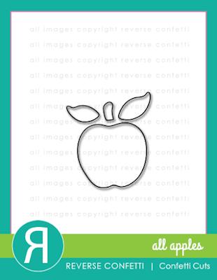 all apples confetti cuts