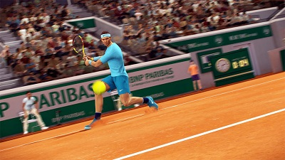 Tennis World Tour: Roland Garros Edition Gameplay