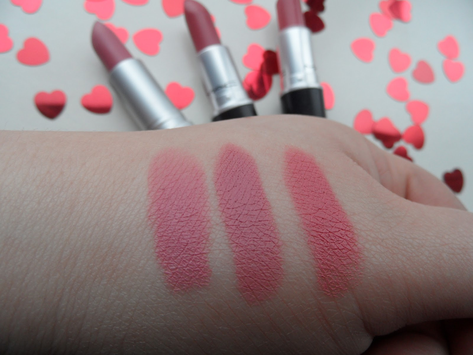 MAC Pink Plaid is my new favorite at the moment ...  Mac Pink Plaid Vs Please Me