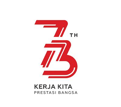 Tema Logo Resmi HUT RI Ke 73 Hari Kemerdekaan RI ke 73 Tahun 2018