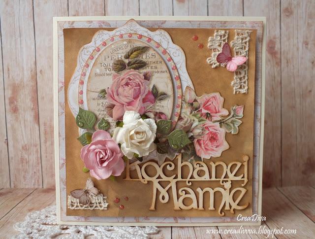 Kochanej mojej Mamie / For My Dear Mom – inspiracja dla The Scrappy Sketches