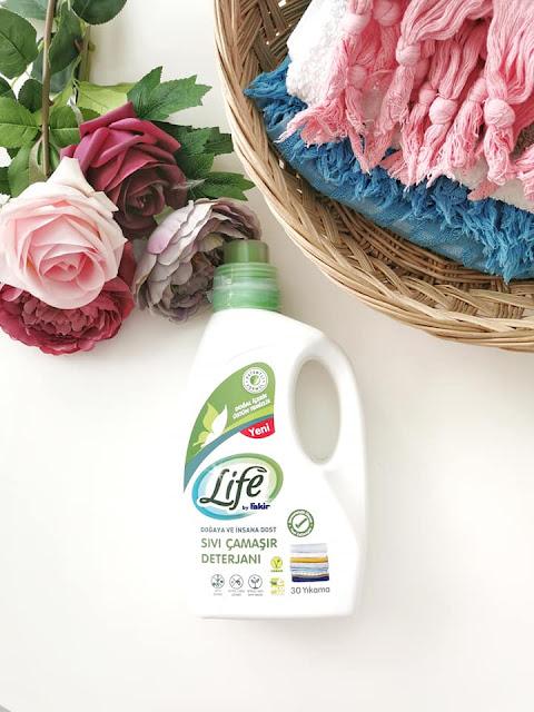 Life by Fakir Bitkisel Sıvı Çamaşır Deterjanı