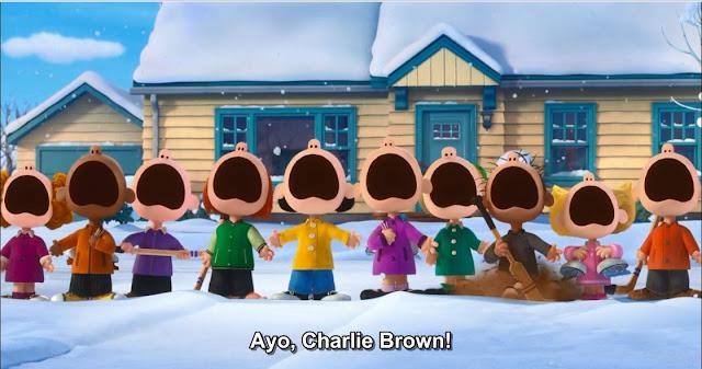 Semua anak memanggil Charlie Brown