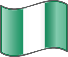 Nigeria Flag — WikiProject Nuvola, in the public domain