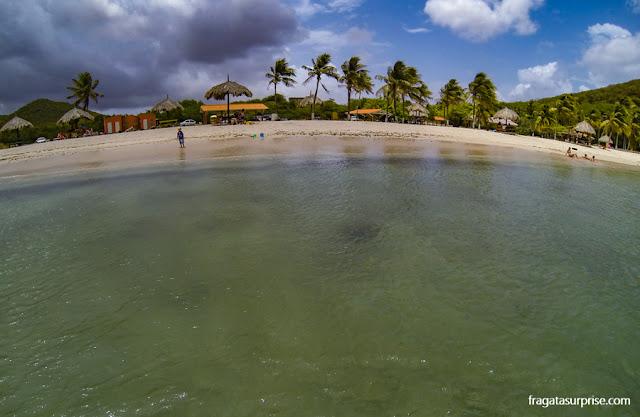 Praia de Santa Cruz, Curaçao