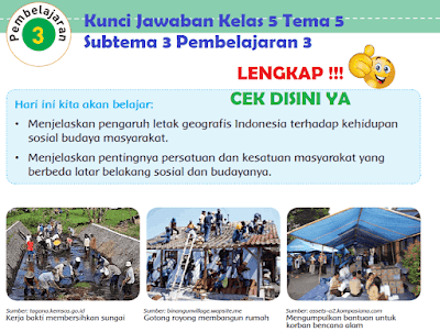 Kunci Jawaban Kelas 5 Tema 5 Subtema 3 Pembelajaran 3 www.simplenews.me