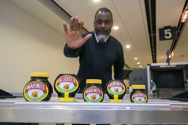 Marmite unveiled as the most seized item by airport security