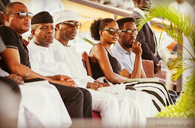 Photos: Yemi Osinbajo and his daughter Kiki at a Polo Tournament in Abuja