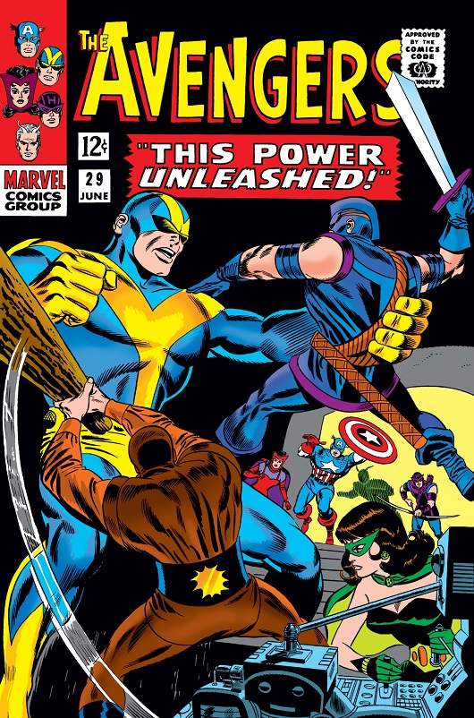 Cover of Avengers Vol 1 #29