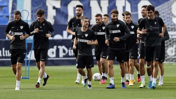 Málaga, hoy hubo entrenamiento sin novedades