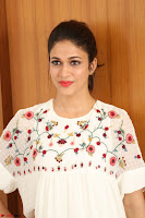 Lavanya Tripathi in Summer Style Spicy Short White Dress at her Interview  Exclusive 185.JPG