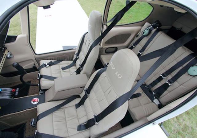 Vans RV-10 interior