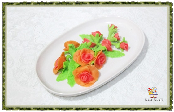 Flor de bala de goma 11