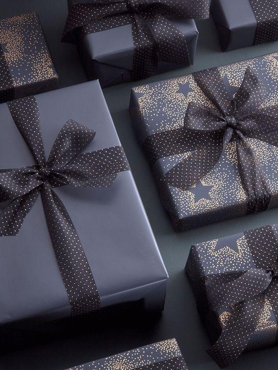 Eleganckie opakowanie prezentów