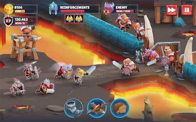 Game of Warriors MOD APK Unlimited Money (Unreleased) Full Hack Terbaru 2017