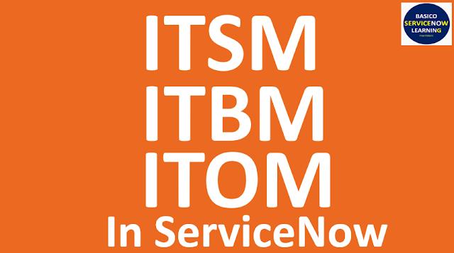 ServiceNow ITSM, ServiceNow ITOM,ServiceNow ITBM,itsm servicenow,itom servicenow,itbm servicenow,servicenow tutorials