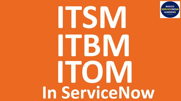 ServiceNow ITSM modules, ServiceNow ITOM modules,ServiceNow ITBM modules,itsm servicenow,itom servicenow,itbm servicenow,servicenow tutorials